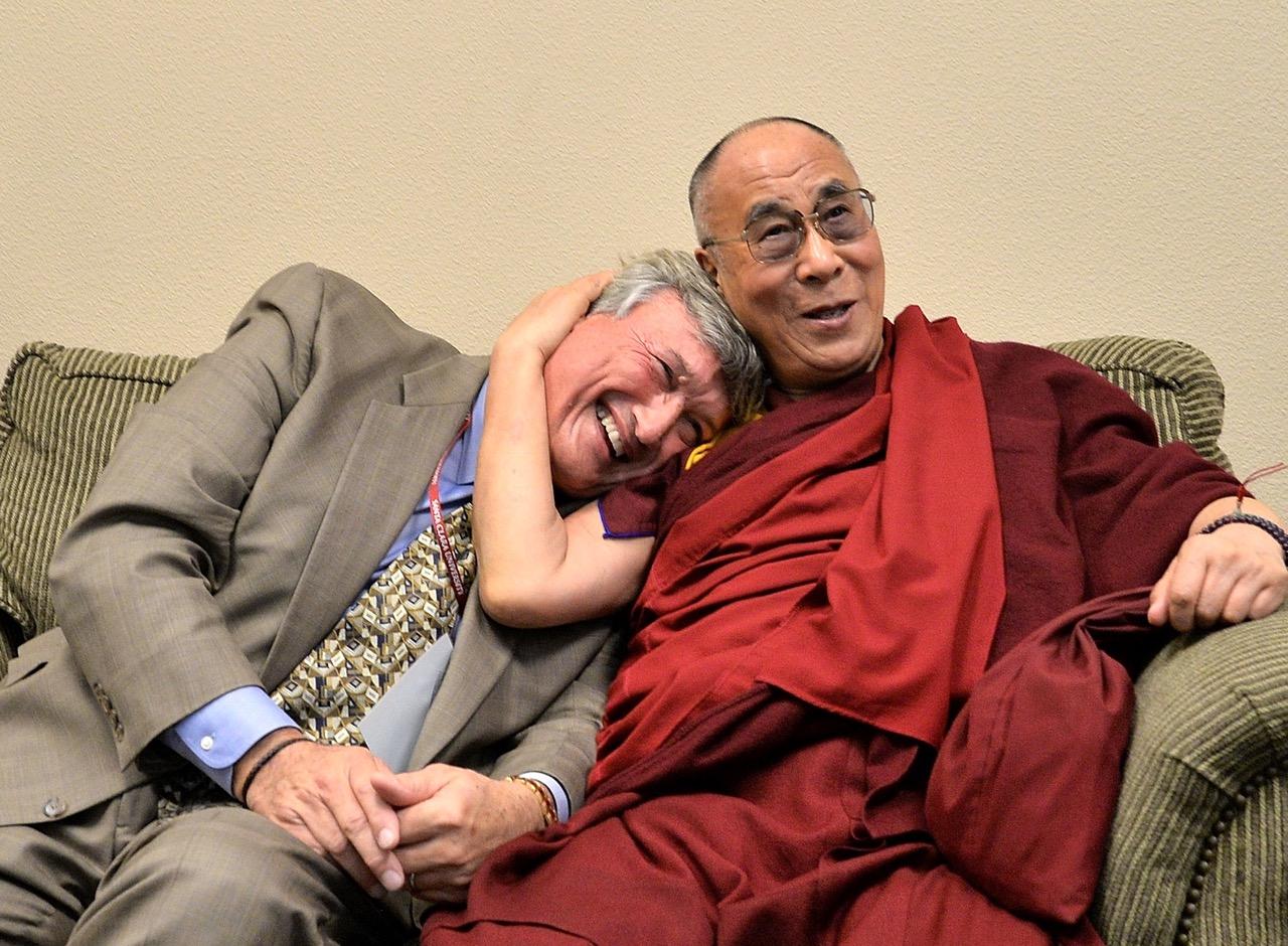 James Doty z Dalajlamą