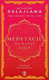 Medytacje na każdy dzień. Ścieżka do spokoju,  Dalajlama, Dom Wydawniczy REBIS Sp. z o.o.