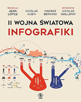II wojna światowa. Infografiki,  praca zbiorowa, Vincent Bernard, Nicolas Aubin, Nicolas Guillerat, Dom Wydawniczy REBIS Sp. z o.o.