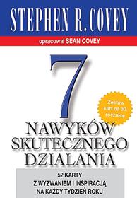 7 nawyków skutecznego działania. 52 karty z wyzwaniem i..., Sean Covey, Dom Wydawniczy REBIS Sp. z o.o.
